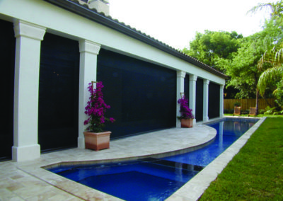 Our outdoor blinds are the perfect solution to ensuring your loved ones' privacy